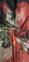 44inch Digital Printed Satin Fabric, 150