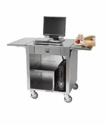 Stainless Steel Cash Register Stand POS