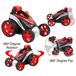 Red Kids Battery Operated Car Toy