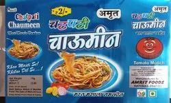 Amrit Foods Fryums Masala Chowmein Noodles, Packaging Size: 20Gm