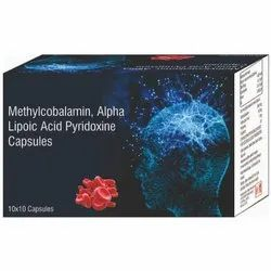 Methylcobalamin, Alpha Lipoic Acid Pyridoxine Capsules