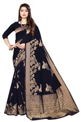 Trending Cotton Silk Banarasi Jacquard Saree