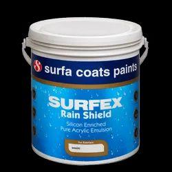Surfex Rain Shield Silicon Enriched Pure Acrylic Emulsion, Packaging Size (litre): 20 Litre