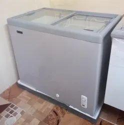 Elanpro Glass Top Chest Freezer