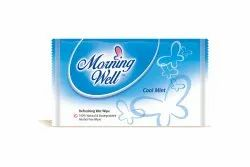Single Wet Wipes With Cool Mint Fragrance