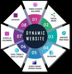 wordpress Dynamic Website Development, With 24*7 Support