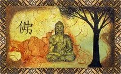 Hand Made Lord Buddha Canvas Painting