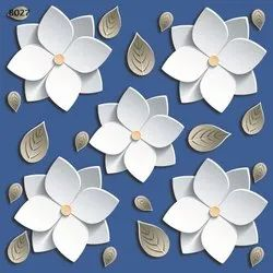 NG  Multicolor 3D  Vitrified Tiles, Thickness: 8 - 10 Mm, Size: Medium