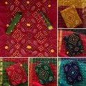 Designer Bandhani Dress Material