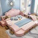 Smart Wood Bed