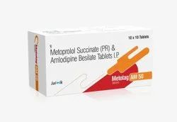 Metoprolol Succinate And Amlodipine Tablets