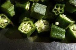 G fresh A Grade Frozen Whole Okra, HDPE Bag, Packaging Size: 50kg