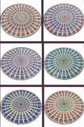 Mandala Print Tapestry