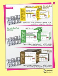 Atorvastatin Clopidogrel and Aspirin Capsules
