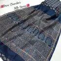Beautiful Designer Collection Bagru Hand Block Printed Pure Chanderi Silk Saree