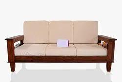 Wooden 3 Seater Sofa Set