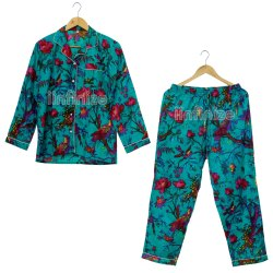 iinfinize Blue Ladies Nightwear Pyjama Set