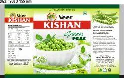 A Grade Ahmedabad Frozen Green Peas, Gunny Bag, 120 gm