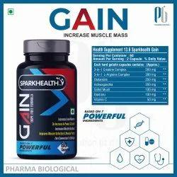 GAIN Increase Muscle Mass Capsules