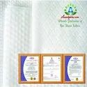 45 GSM White Spunlace Nonwoven Fabric Cross Lapping 70% Viscose 30% Polyester