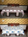 HANDBLOCK PRINTE  TABLE CLOTH