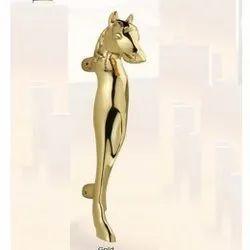Horse Gold Brass Pull Handles