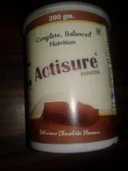 Aagam Lifesciences ACTISURE Powder 200 GM, Treatment: Protein Suppliment, Packaging Type: Plastic Container