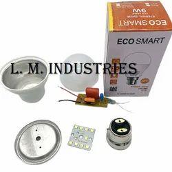 Led Bulb Raw Material 9 Watt With Hpf Driver