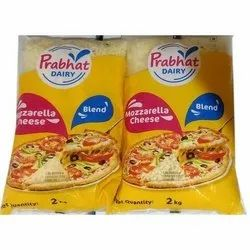 Prabhat Mozzarella Cheese, Packaging Type: 2 Kg Pouch