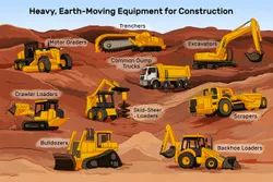 Steel Side & Top Earthmoving Machinery Parts - Heavy Earthmoving Machinery Spare Parts