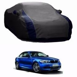 Grey And Blue Car Body Cover