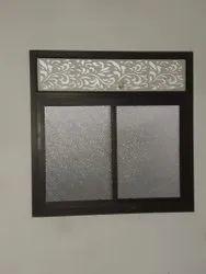 Aluminium Powder Coated Rectangular Aluminum Window, Size/Dimension: 4.5 X 3.5 Feet