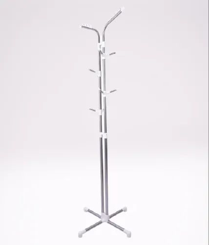 Silver Vertical Stainless Steel Coat, Stainless Coat Rack