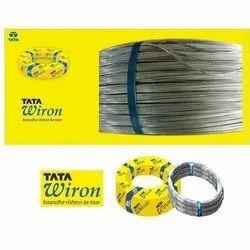Galvanized Iron TATA Wiron Binding Wire, For Construction, Gauge: 12