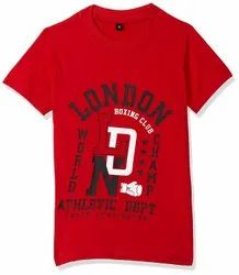 Cotton Printed Kids Boy T Shirts