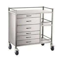 Stainless Steel Drawer Trolley
