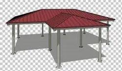 Steel Prefab Terrace Roofing Shed