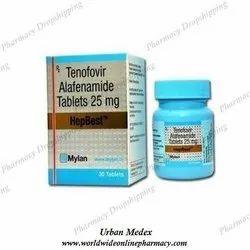 Hepbest Tenofovir Alafenamide Tablet