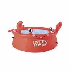 Branded (INTEX) 51 Cm 6ft Easys set inflatable pool, For Residential, 183 Cm