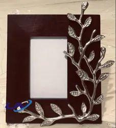 Rectangle Leaf Broach Photo Frame