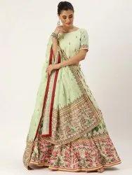 Party Wear Multicolor New Designer Lehenge Choli