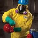 Kleenguard A70 Chemical Spray Protection Coveralls / Medium And Large / Yellow, 09812 & 09813