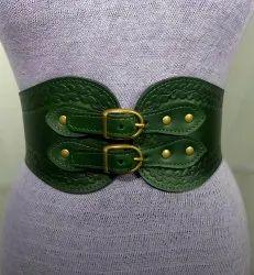 Medieval Handmade Leather Corset Belt