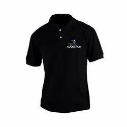 Half Sleeves Collar T-Shirt