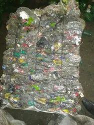 Natural Baled Plastic Pet Bottle Scrap
