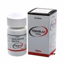 Tenvir AF 25mg Tablet Tenofovir Alafenamide 25 mg