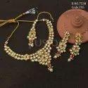 Fusion Arts Kundan Necklace Set