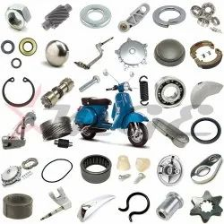 Steering Column - Mudguard - Front Wheel Drum Spare Parts For Vespa PX LML Star NV Scooter