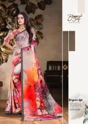 Designer Digital Printed Saree