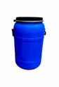 Campus Blue 75 Ltr Hdpe Open Top Drum, For Chemical Storage